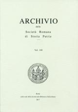 Archivio della Società Romana di Storia Patria vol. 140 - 2017